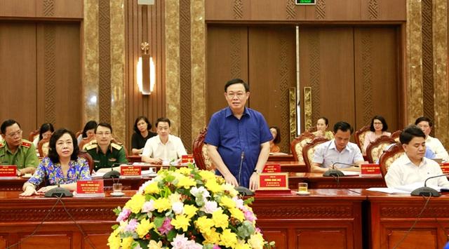 Chủ tịch Quốc hội: Hà Nội cần khai thác hiệu quả quỹ đất sông Hồng - 2
