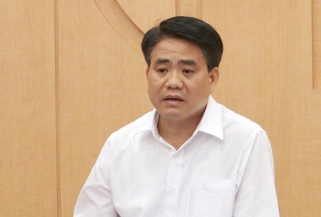 Ông Nguyễn Đức Chung bị tạm đình chỉ nhiệm vụ đại biểu HĐND Hà Nội - 1