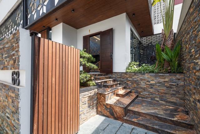 Độc đáo ngôi nhà ở Hà Nội có bể bơi dưới tầng hầm, đẹp như resort - 4
