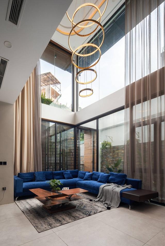 Độc đáo ngôi nhà ở Hà Nội có bể bơi dưới tầng hầm, đẹp như resort - 10