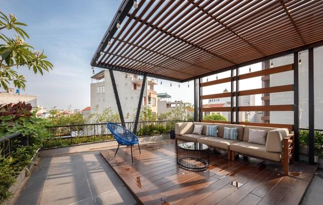Độc đáo ngôi nhà ở Hà Nội có bể bơi dưới tầng hầm, đẹp như resort - 12