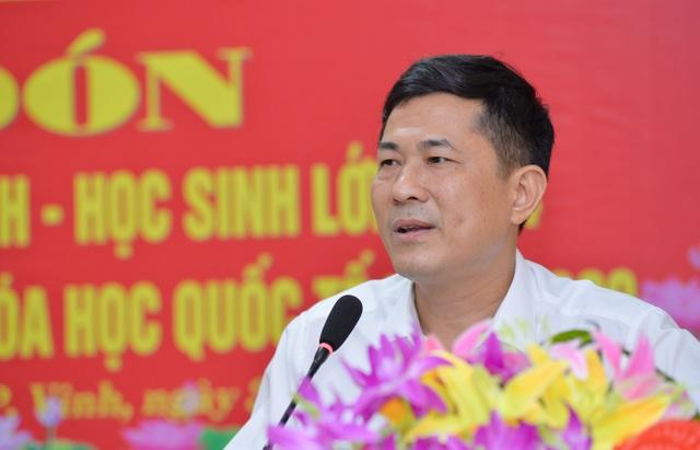 Đón nam sinh xứ Nghệ đầu tiên đạt Huy chương vàng Olympic Hóa học quốc tế - 5