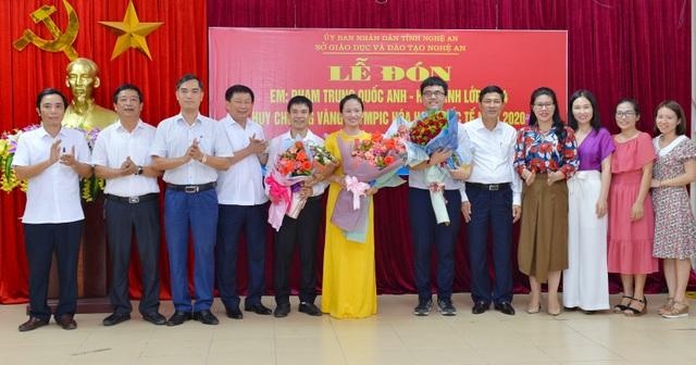 Đón nam sinh xứ Nghệ đầu tiên đạt Huy chương vàng Olympic Hóa học quốc tế - 6