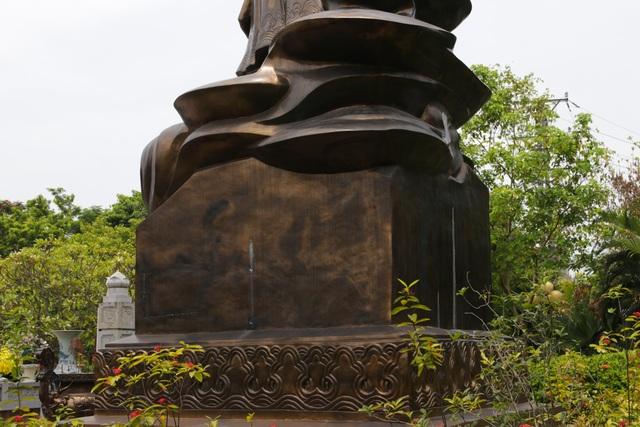 Chiêm ngưỡng bức tượng đồng nguyên chất lớn nhất Việt Nam - 9