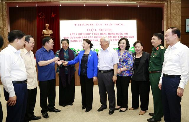 Chủ tịch Quốc hội: Hà Nội cần khai thác hiệu quả quỹ đất sông Hồng - 3