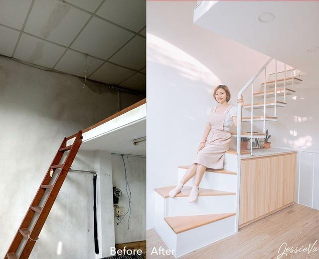 Cải tạo tiệm cơm bình dân cũ kỹ thành ngôi nhà mới, đẹp lung linh - 5