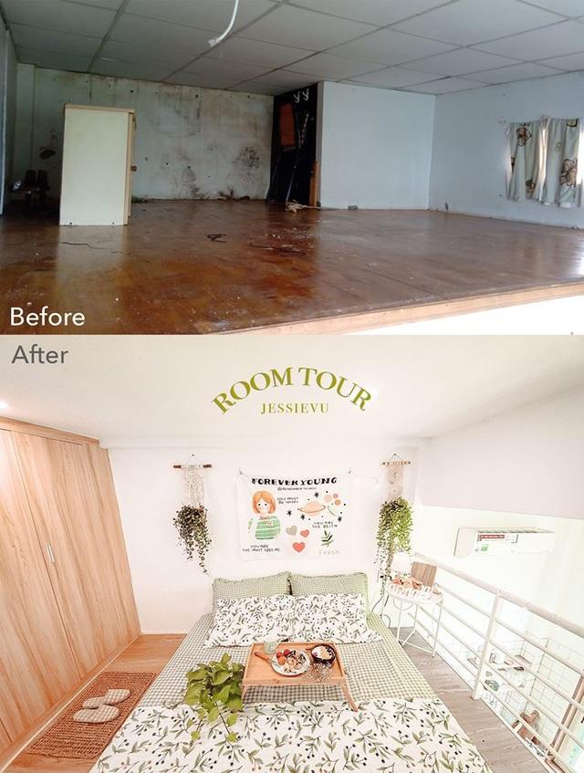 Cải tạo tiệm cơm bình dân cũ kỹ thành ngôi nhà mới, đẹp lung linh - 2