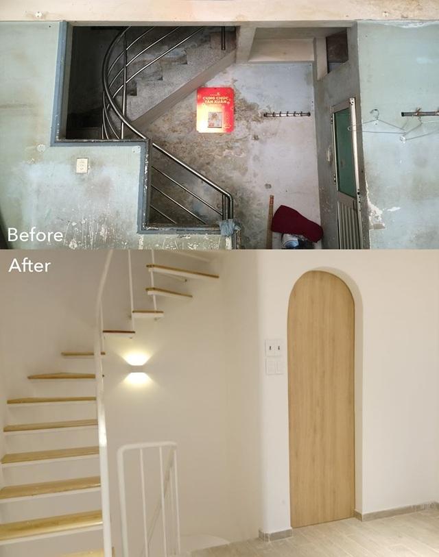 Cải tạo tiệm cơm bình dân cũ kỹ thành ngôi nhà mới, đẹp lung linh - 3