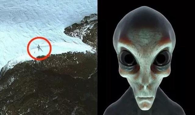 Thợ săn UFO tuyên bố phát hiện người ngoài hành tinh cao 20m ở Nam cực - 1