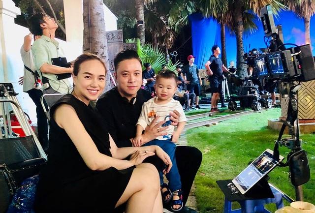 Nữ diễn viên Đinh Ngọc Diệp đã sinh con thứ 2 cho ông xã Victor Vũ - 2