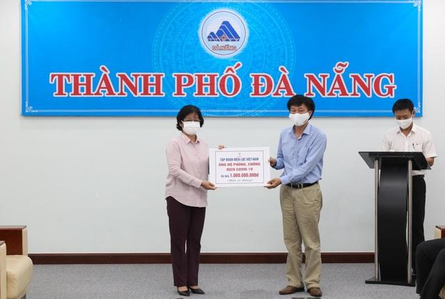 EVN ủng hộ Đà Nẵng 1 tỷ đồng để phòng chống dịch Covid-19 - 1