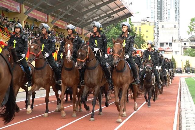 Diện mạo mới lạ của Đoàn cảnh sát cơ động kỵ binh  - 6