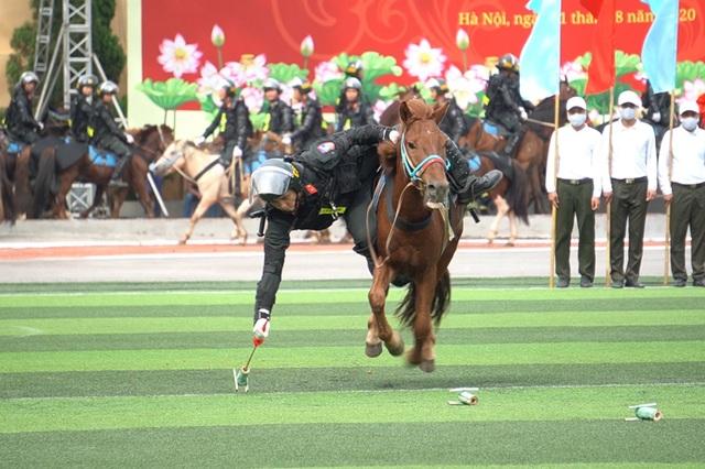 Diện mạo mới lạ của Đoàn cảnh sát cơ động kỵ binh  - 7