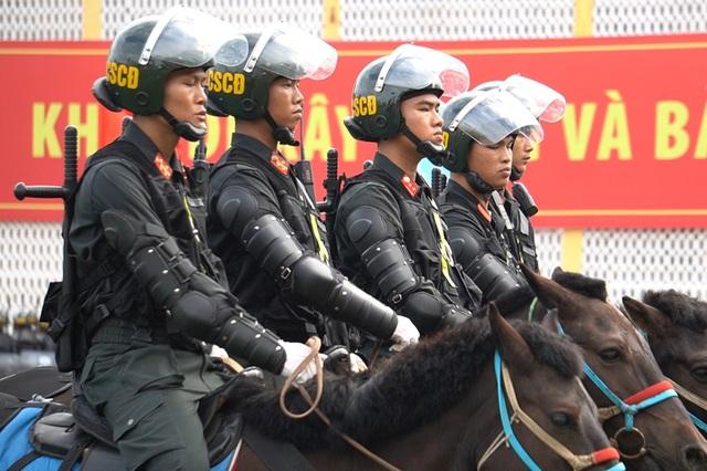 Diện mạo mới lạ của Đoàn cảnh sát cơ động kỵ binh  - 3