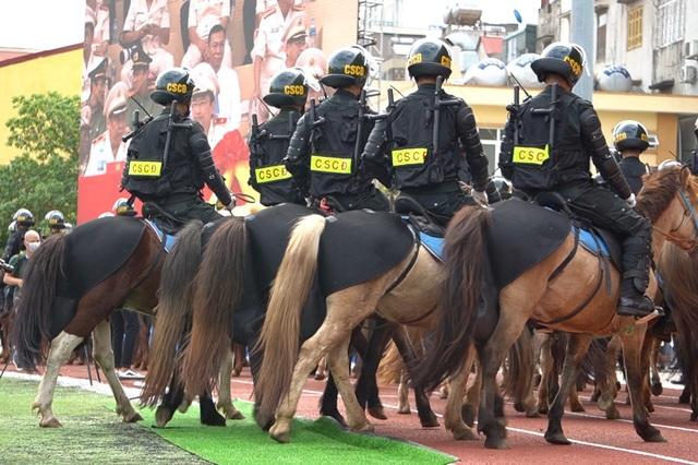Diện mạo mới lạ của Đoàn cảnh sát cơ động kỵ binh  - 9