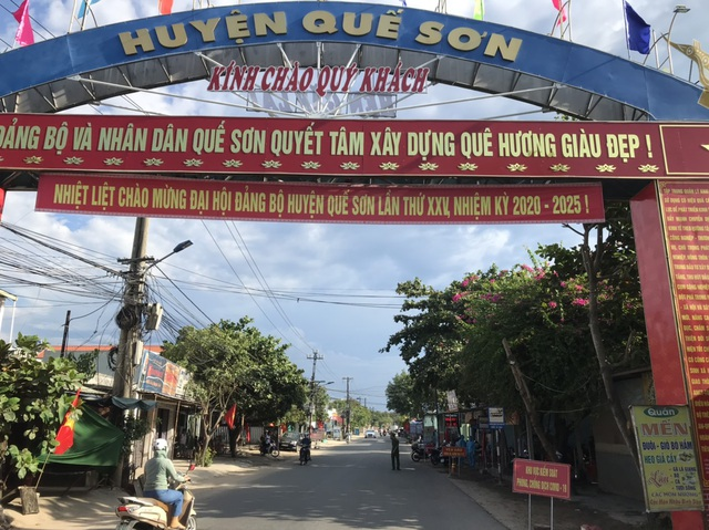 Đêm nay Quảng Nam phong tỏa thêm khu vực nguy cơ cao lây nhiễm Covid-19 - 1