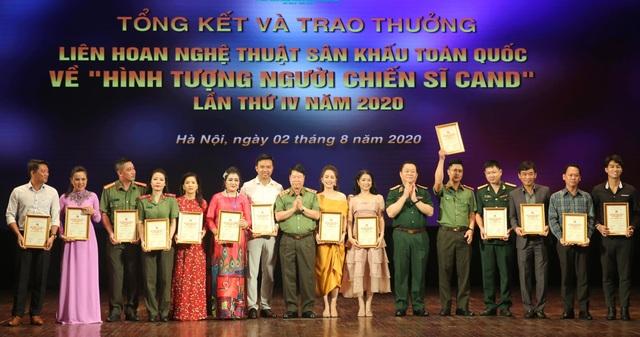 59 nghệ sĩ đoạt Huy chương Vàng tại Liên hoan sân khấu về hình tượng CAND - 3
