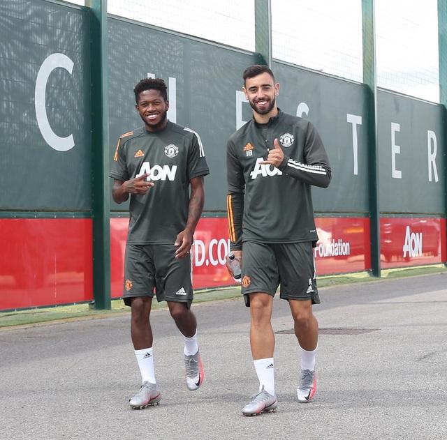 Man Utd luyện công chuẩn bị trở lại Europa League - 1