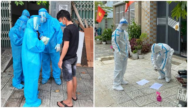 Sinh viên chi viện tâm dịch: 1 ngày gõ cửa 400 nhà để truy vết - 5