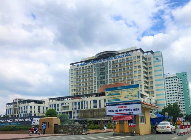 Phong toả 1 khoa của Bệnh viện đa khoa Đồng Nai - 1