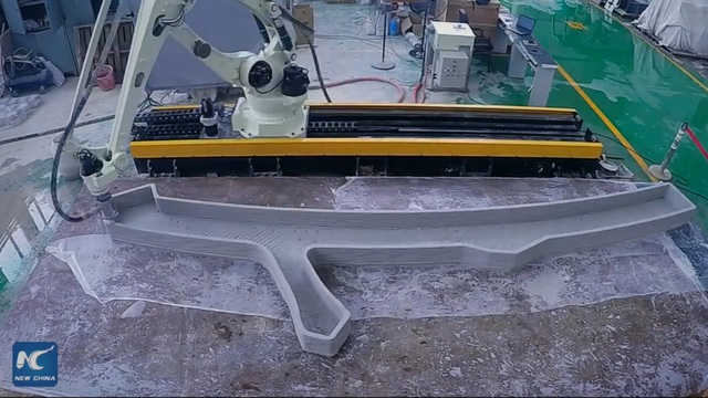 Trung Quốc xây dựng cầu in 3D dài nhất thế giới - 2