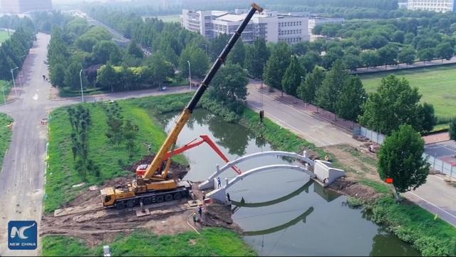Trung Quốc xây dựng cầu in 3D dài nhất thế giới - 3