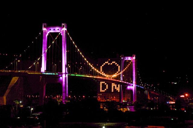 Đà Nẵng: Khách sạn đồng loạt lên đèn hình trái tim giữa mùa dịch - 8