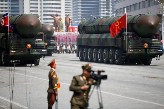 Triều Tiên có thể đã phát triển đầu đạn hạt nhân cho tên lửa đạn đạo - 1