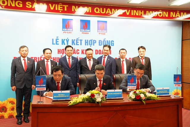 PV GAS, PTSC, PV Power, PVChem ký hợp đồng hợp tác đầu tư cùng phát triển - 1