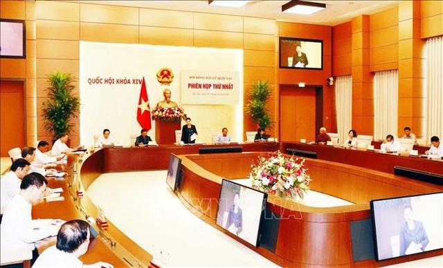 Phiên họp lần thứ nhất Hội đồng bầu cử quốc gia - 1