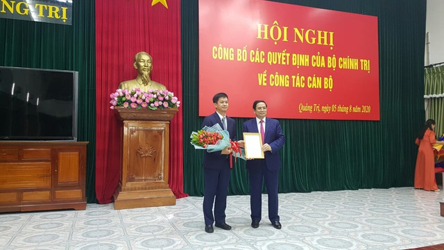 Bộ Chính trị điều động Thứ trưởng Bộ VH - TT  DL làm Bí thư Quảng Trị - 2