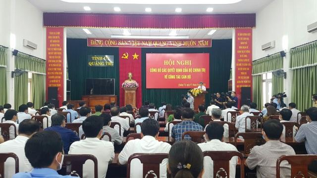 Bộ Chính trị điều động Thứ trưởng Bộ VH - TT  DL làm Bí thư Quảng Trị - 1
