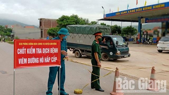 Nhiều thôn ở Bắc Giang bị phong tỏa vì có 2 người nghi mắc Covid-19 - 1