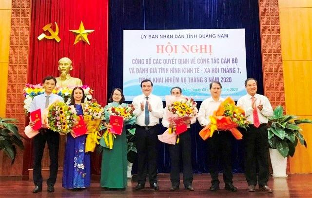 Quảng Nam điều động, bổ nhiệm hàng loạt cán bộ chủ chốt sở, ngành - 1