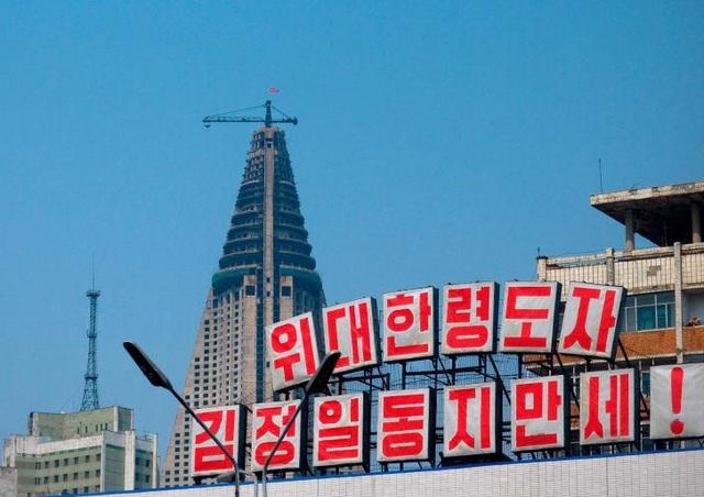 Sau 33 năm, khách sạn cao nhất Triều Tiên vẫn chưa từng đón khách - 2