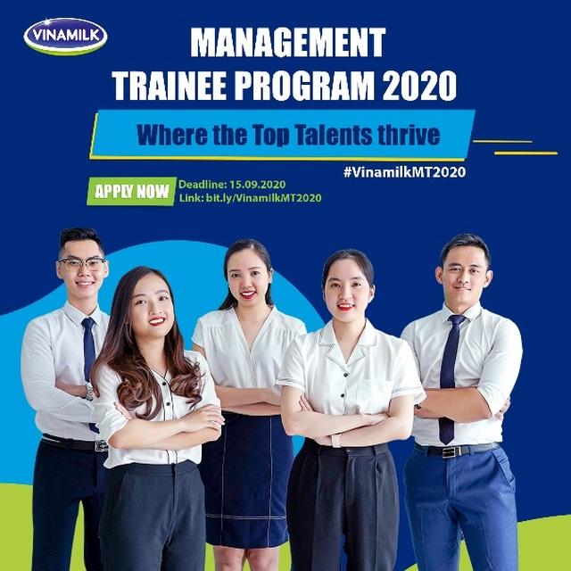 """Vinamilk chính thức khởi động chương trình """"Quản trị viên tập sự 2020"""" - 4"""