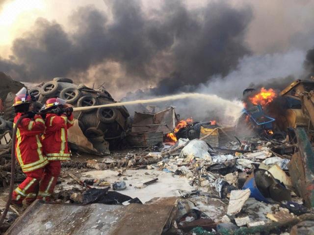 Thảm kịch Beirut: Hàng nghìn tấn hóa chất bị bỏ quên phát nổ sau 6 năm - 1