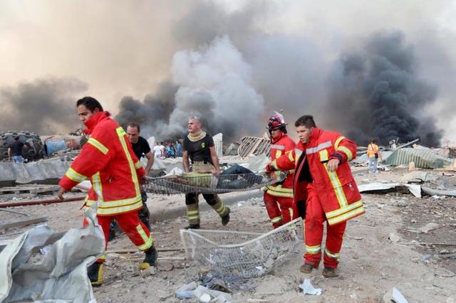 Nổ lớn rung chuyển Li Băng, 78 người chết, hàng nghìn người bị thương - 3
