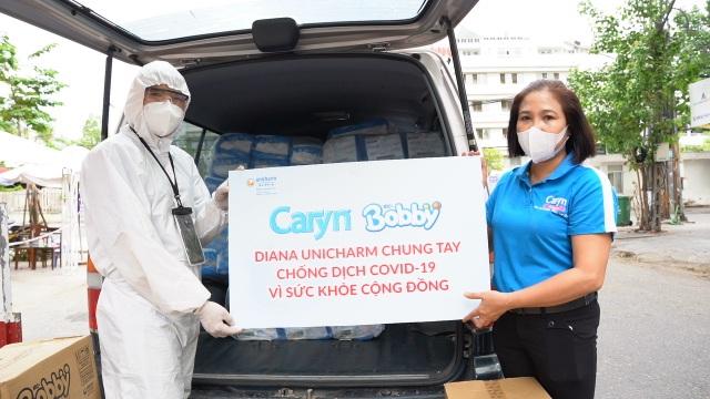 Diana Unicharm chung tay cùng cả nước hướng về Đà Nẵng - 2