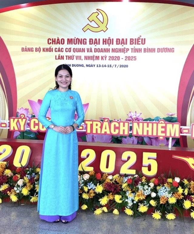 Nữ tiến sĩ 39 tuổi được bổ nhiệm làm Hiệu trưởng trường ĐH Thủ Dầu Một - 1