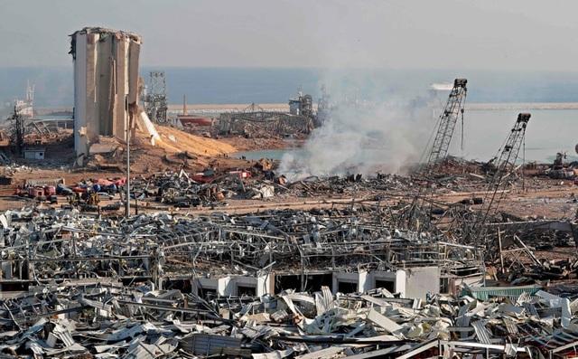 Hé lộ nguyên nhân ban đầu của vụ nổ kinh hoàng tại Li Băng - 1