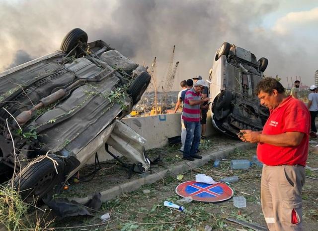 Thảm kịch Beirut: 250.000 người mất nhà cửa, bệnh viện quá tải nạn nhân - 3