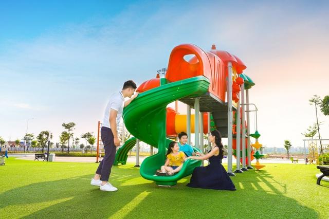 Phố Nối House xây sân chơi miễn phí rộng cả hecta - 4