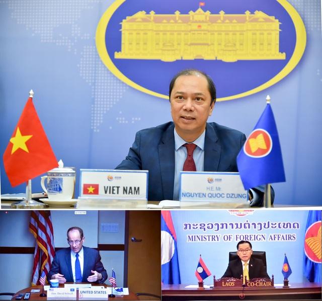 ASEAN – Mỹ ủng hộ nỗ lực nối lại đàm phán về quy tắc ứng xử ở Biển Đông - 1