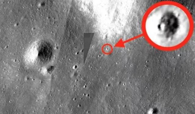 Phát hiện UFO khổng lồ trên Mặt trăng - 1