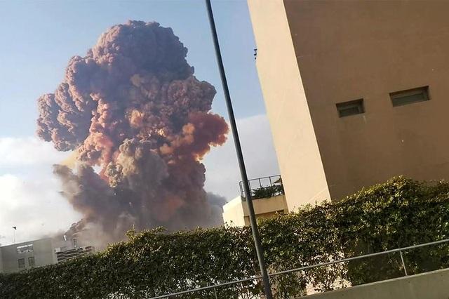 Cộng đồng quốc tế sát cánh cùng Lebanon sau vụ nổ chấn động - 1