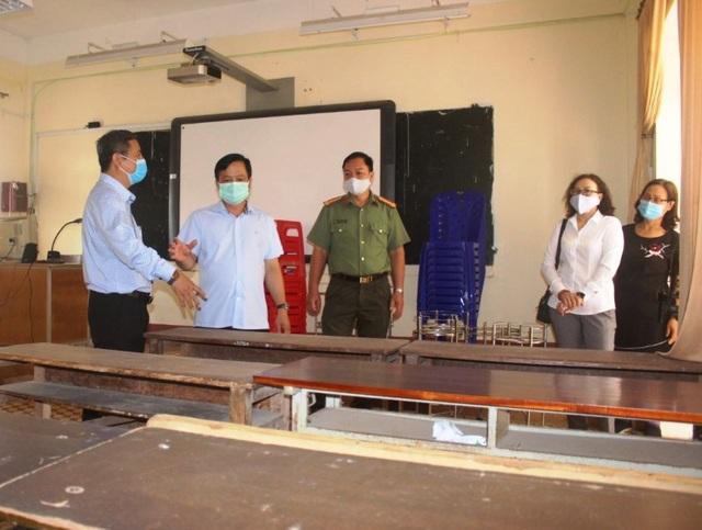 Bình Định: Ưu tiên đảm bảo sức khỏe cho thí sinh thi tốt nghiệp THPT - 2