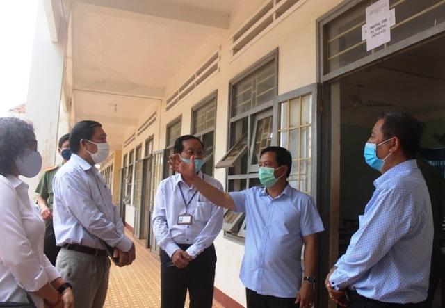 Bình Định: Ưu tiên đảm bảo sức khỏe cho thí sinh thi tốt nghiệp THPT - 1