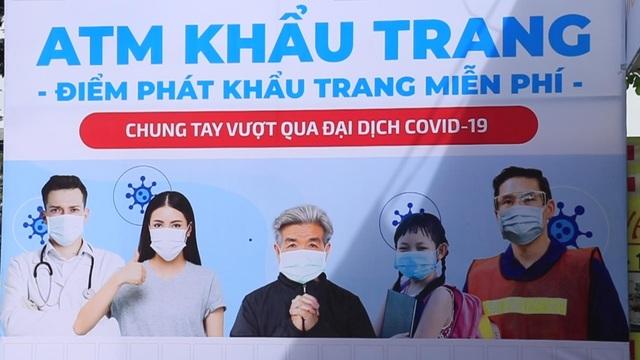 ATM khẩu trang miễn phí ở Sài Gòn - 1
