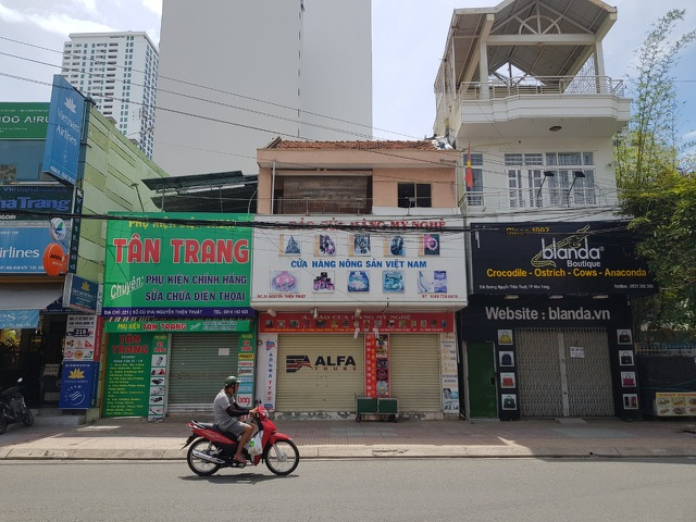 """""""Làn sóng"""" trả mặt bằng ở phố du lịch Nha Trang do dịch Covid-19 - 5"""
